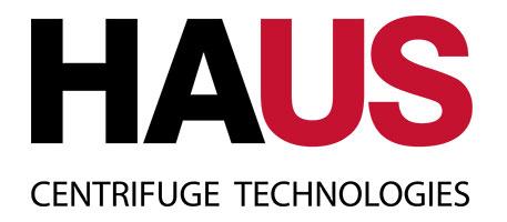Haus Vector Process Equipment Centrifuges